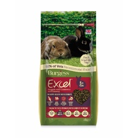 Burgess Excel Rabbit Pellets with Cranberry and Gingseng for Mature Rabbits