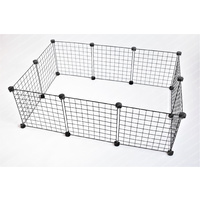 Grid Cage Walls for 2 x 3 C&C Cage - White