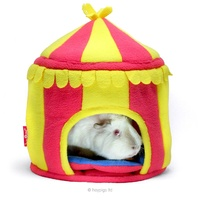 Circus Hidey Hut - Fleece Hidey Hut by HAYPIGS!®