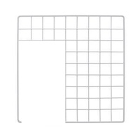 Grid for Inset Loft, Ramp Entry or Doorway - White