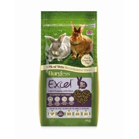 4kg Burgess Excel Light Rabbit Pellets for Overweight Rabbits
