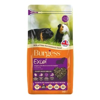 2kg Burgess Excel Guinea Pig Pellets with Blackcurrant and Oregano